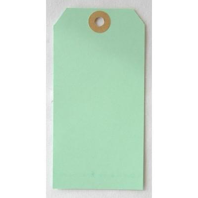 Etiquettes américaines 6x12 cm - Vert (Lot de 10)